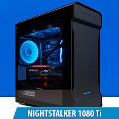 PCCG Nightstalker 1080 Ti Gaming System