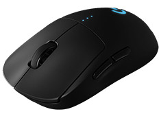 Logitech G Pro Wireless Gaming Mouse with 16K Hero Sensor