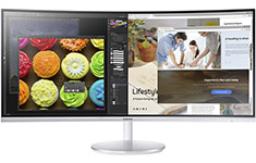 Samsung CF791 34in UWQHD 100hz Curved Quantum Dot Monitor