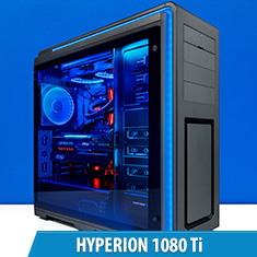 PCCG Hyperion 1080 Ti Gaming System