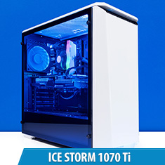 PCCG Ice Storm 1070 Ti Gaming System