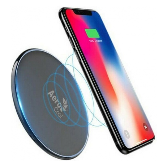 Aerocool Slimline 10W Fast Wireless Charger Black