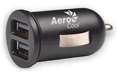 Aerocool Dual USB Fast Car Charger