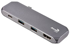 Aerocool Slimline Type-C Hub & Dock with HDMI