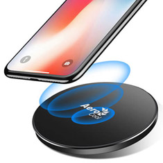 Aerocool 10W Fast Wireless Charger Grey