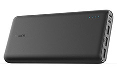 Anker PowerCore 26800mAh Power Bank with PowerIQ 2.4A Black