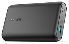Anker PowerCore Speed 10000mAh Power Bank with QC3.0 Black