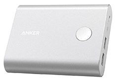 Anker PowerCore+ 13400mAh Power Bank with QC3.0 Silver