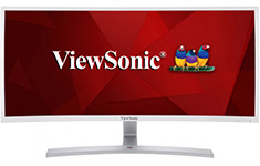 ViewSonic VX3515-C 35in UWFHD Curved VA Monitor