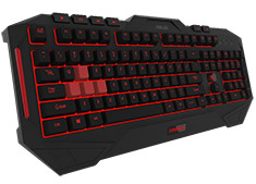 ASUS Cerberus MKII Multi Coloured Splash Proof Keyboard