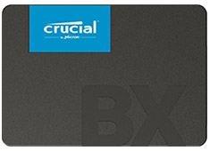 Crucial BX500 2.5in SATA SSD 240GB