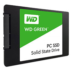 Western Digital Green 2.5in SATA SSD 480GB
