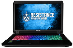 Resistance VR Enforcer 17.3in i7 Gaming Notebook [G70-17V4]