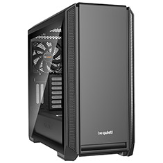 be quiet! Silent Base 601 Tempered Glass Case Black