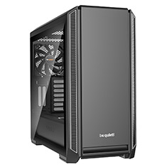 be quiet! Silent Base 601 Tempered Glass Case Silver