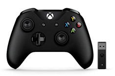 Microsoft Xbox Controller and Wireless Adapter for Windows