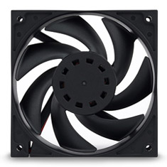 EK Vardar EVO 140ER 2000rpm Fan Black