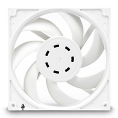 EK Vardar EVO 140ER 2000rpm Fan White