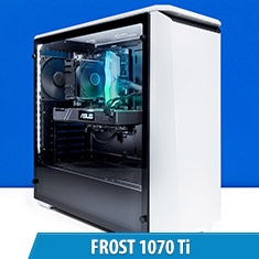 PCCG Frost 1070 Ti Gaming System