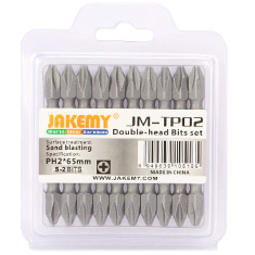 Jakemy Double Head Bit Set PH2 10 Pack