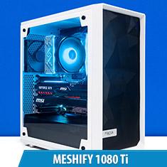 PCCG Meshify 1080 Ti Gaming System