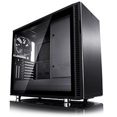 Fractal Design Define R6 USB-C Blackout Tempered Glass Case