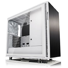 Fractal Design Define R6 USB-C White Tempered Glass Case