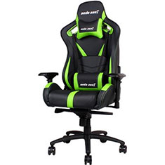 Anda Seat AD12XL-03 Extra Large Gaming Chair Black/Green