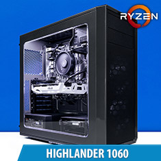 PCCG Highlander 1060 Gaming System