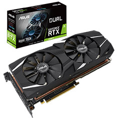 ASUS GeForce RTX 2080 Ti Dual Fan OC 11GB