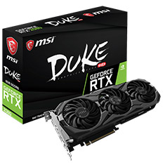 MSI GeForce RTX 2080 Duke OC 8GB
