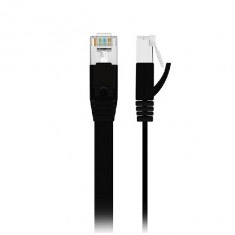 Edimax 1G Flat CAT6 Network Cable 1m Black