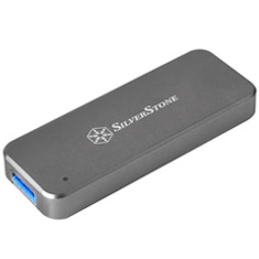 SilverStone MS09-MINI M.2 Portable USB 3.1 Portable Enclosure
