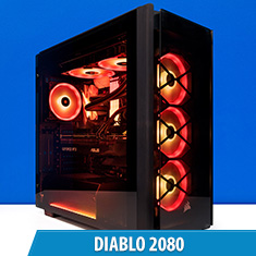 PCCG Diablo RTX 2080 Gaming System