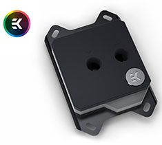 EK Velocity RGB AMD CPU Waterblock Nickel Acetal (Open Box)