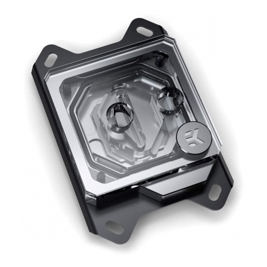 EK Velocity RGB AMD CPU Waterblock Nickel Plexi