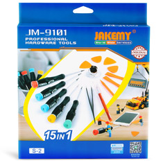 Jakemy Mobile Electronics Repair Kit 15 Piece