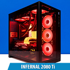 PCCG Infernal 2080 Ti Gaming System