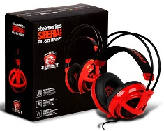 SteelSeries Siberia V2 Gaming Headset - MSI Edition