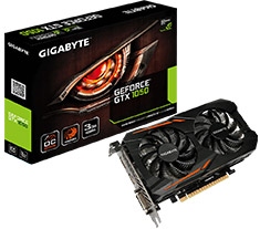 Gigabyte GeForce GTX 1050 OC 3GB