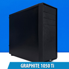 PCCG Graphite 1050 Ti Gaming System