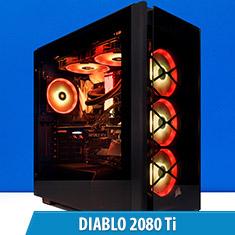 PCCG Diablo 2080 Ti Gaming System