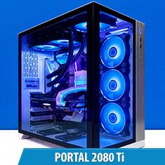 PCCG Portal 2080 Ti Gaming System