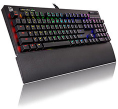 Tt eSPORTS Neptune Elite RGB Keyboard TTC Brown