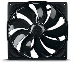 Noiseblocker NB-eLoop Fan B14-PS PWM Black Edition 140mm
