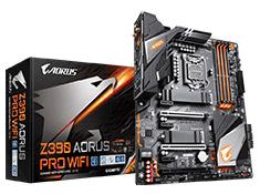 Gigabyte Z390 Aorus Pro WiFi Gaming Motherboard