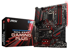 MSI MPG Z390 Gaming Plus Motherboard