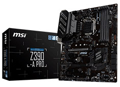 MSI Z390-A Pro Motherboard