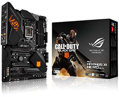 ASUS ROG Maximus XI Hero Wi-Fi Motherboard COD Black Ops Edition