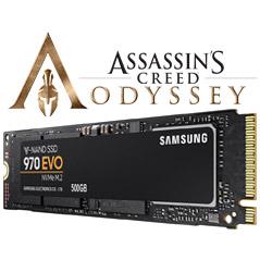 Samsung 970 EVO 500GB M.2 NVMe SSD Odyssey Bundle